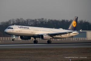 D-AISH Lufthansa Airbus A321-231 | MSN 3265