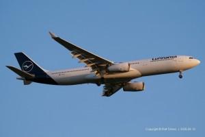 D-AIKD Lufthansa Airbus A330-343 | MSN 629