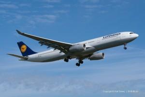 D-AIKK Lufthansa Airbus A330-343 | MSN 896
