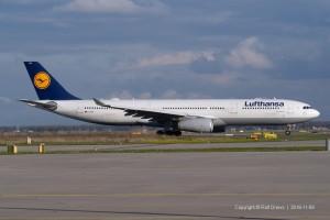D-AIKN Lufthansa Airbus A330-343 | MSN 922