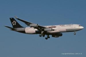 D-AIBA Lufthansa Airbus A340-211 | MSN 8