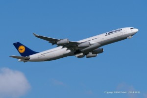 D-AIGM Lufthansa Airbus A340-313 | MSN 158