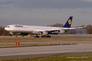 D-AIHC Lufthansa Airbus A340-642 | MSN 523