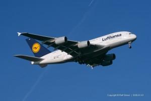 D-AIMM Lufthansa Airbus A380-841 | MSN 175