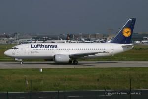 D-ABXU Lufthansa Boeing B737-330 | ln 1671