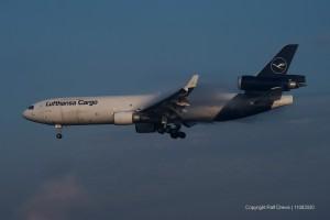 D-ALCB Lufthansa Cargo McDonnell Douglas MD-11F | ln 626