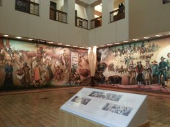 Mural at Gene Autry Museum. Photograph by Rosemary Irvine