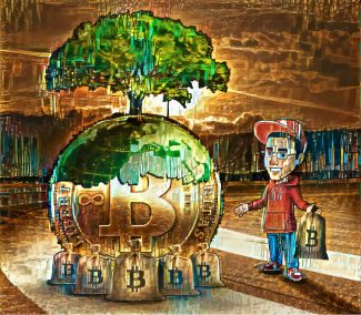 Frankie Saves the World (With Bitcoin)