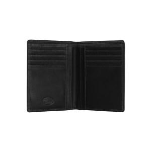 leren portemonnee zwart andy