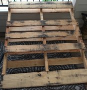 Find a wood pallet