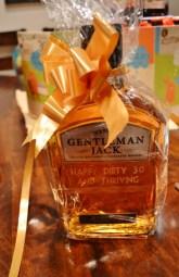 Gentleman Jack Etched Bottle