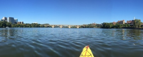 Key Bridge kayaking