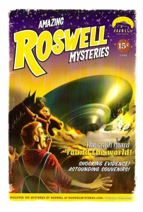 Roswell Postcard