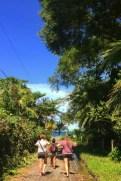 2 min walk to the beach from Casa Caribe