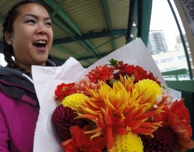 Flowers from Pike's Place