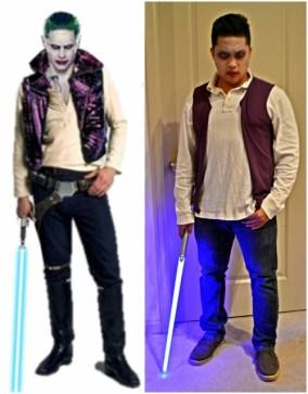 Joker and Han Solo Costume Mashup