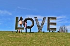 Chrankie at Airlie Love Sign ICI VA