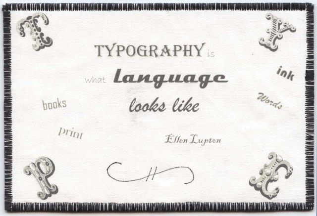 Franki Kohler, Typography by Lynn Chinnis