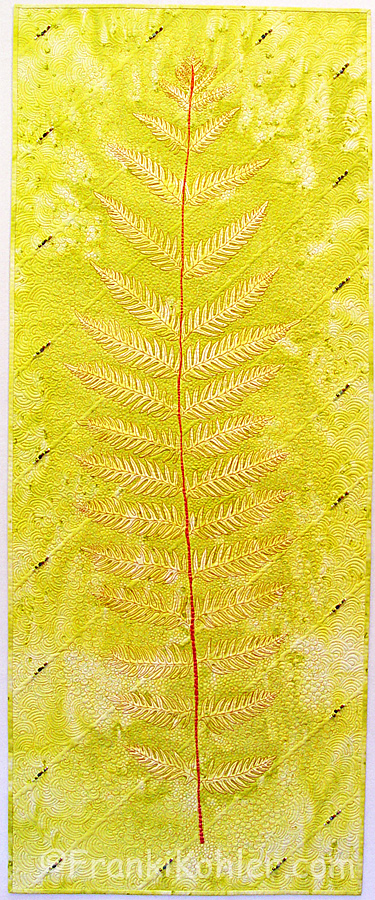"Franki Kohler, Woodwardia Wonder, 60"" x 24"", 2013, For Sale"