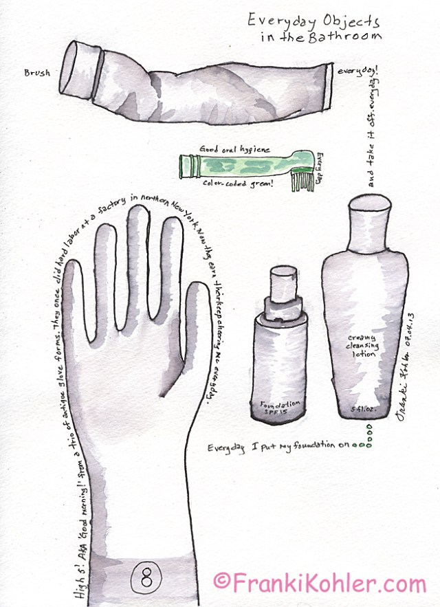 Frnaki Kohler, Everyday objects, page 2
