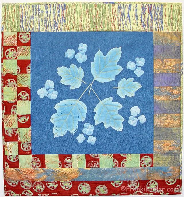 """Franki Kohler, Oakleaf Hydrangea II, 28 1/4"""" x 26 1/4"""", 2013"""