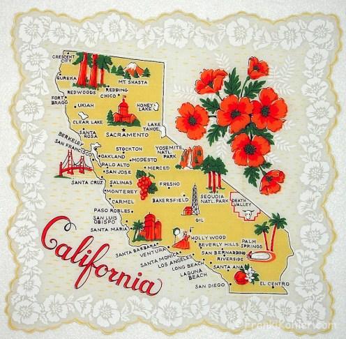 """Classic California, 13 3/4"""" x 13 3/4"""""""