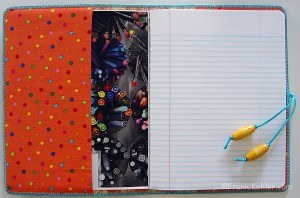 Notebook open