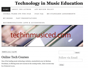 Technology in Music Education