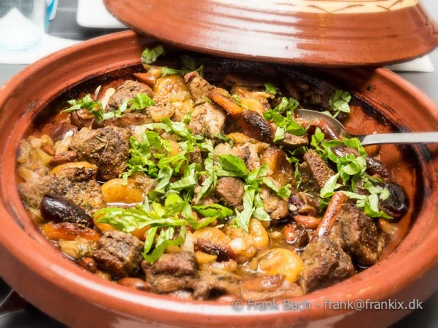 Tagine with duck