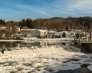 Dam at Newport, NY