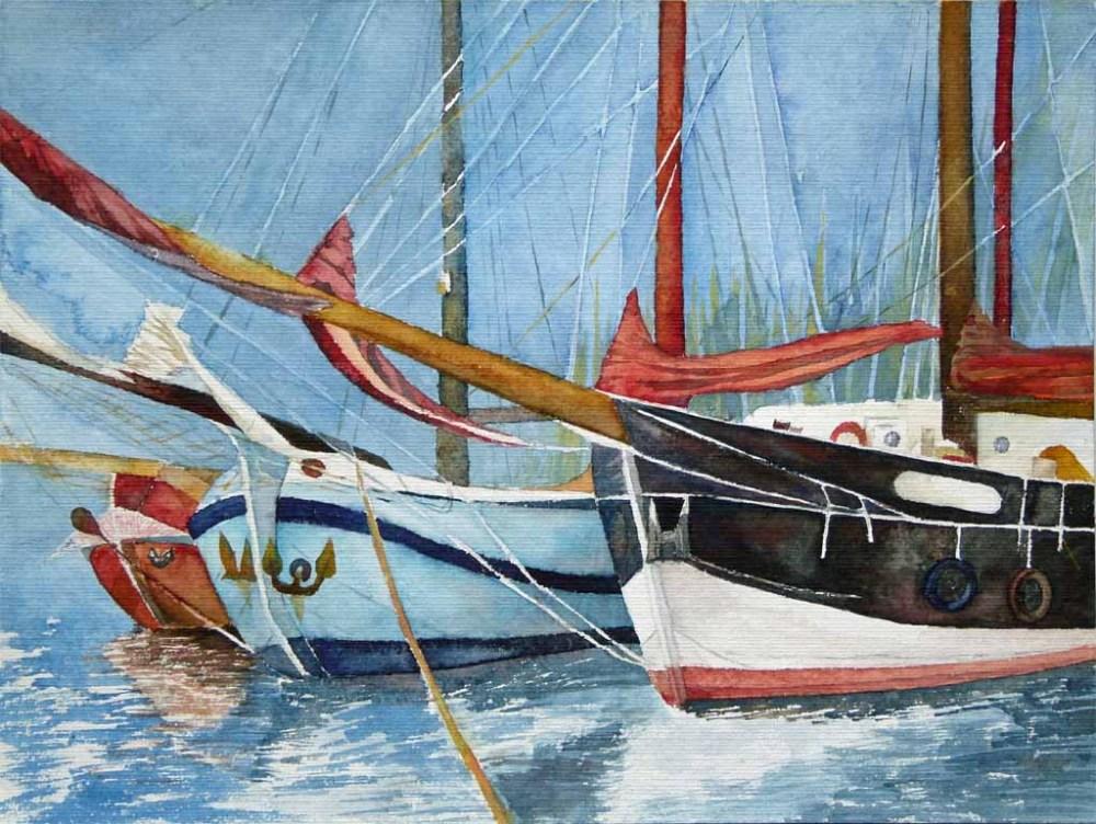 Maritime Aquarelle (2/6)