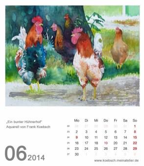 Kalenderblatt Juni 2014