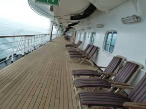 Lower Promenade Deck - Deck 3 der MS Zaandam (c) Frank Koebsch
