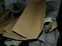 reichlich Verpackungsmaterial (c) FRank Koebsch
