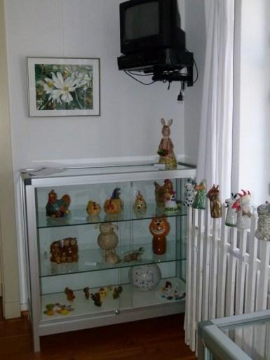 Aquarelle und Keramik im Salzmuseum Bad Sülze (c) Frank Koebsch (1)