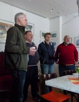 Gäste der Vernissage der Ausstellung - Frühling im Land in Bad Sülze (c) Frank Koebsch