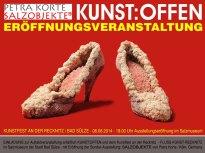 Kunst Offen - Salzobjekte von Petra Korte