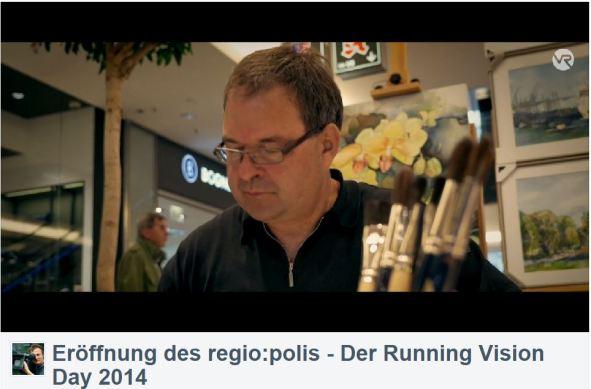 Frank Koebsch im Video von Bert Scharffenberg über die Eröffnung des Festivals regio polis (4)