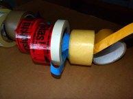 verschiedene Klebebänder für die Verpackung (c) Frank Koebsch