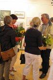 Schnappschüsse von der Eröffnung der Ausstellung Faszination Aquarell 2015 (c) Frank Koebsch (8)