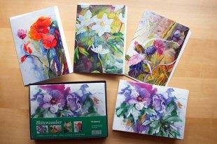 Geschenkbox Blütenzauber mit Kunstkarten von Hanka und Frank Koebsch