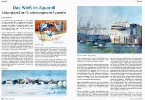 Das Weiß im Aquarell – Lösungsansätze für stimmungsvolle Aquarelle - Frank Koebsch in der Palette 2015 06