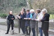 Skizzieren bei den Pinguienen des Rostocker Zoos (c) Maria Zepplin (2)