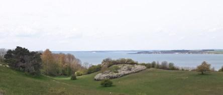 Blick über Groß Zicker auf die Insel Vilm (c) Frank Koebsch