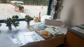 Vorbereitungen für die Malreise zu den Kranichen (c) FRank Koebsch (2)