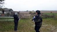 Wir beobachten Kraniche auf den Feldern an der Müritz (c) FRank Koebsch (1)