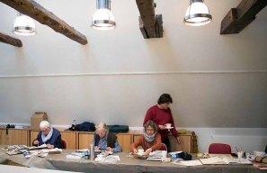 Malen im Atelier des Kunstmuseums Schwaan (c) FRank Koebsch (2)