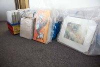 Auswahl unserer Aquarelle für die Ausstellung Wildes Land (c) Frank Koebsch (2).