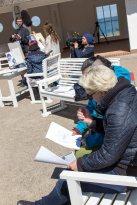 Ivan Prado unterichtet das Zeichnen von Karrikaturen beim Plein Air Festival Kühlungsborn (c) FRank Koebsch (6)