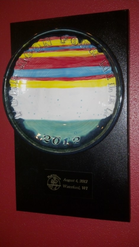 Full Moon Four Miler Trophy - NFS but rather for running really fast!
